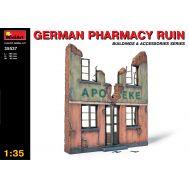 Руины немецкой аптеки масштаб 1:35 MiniArt MiA35537, фото 1