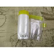 Маскирующая лента 10мм с полиэтиленовой пленкой шириной 550мм Tamiya 87164, фото 1