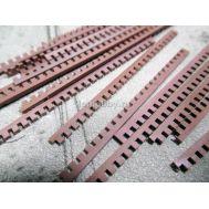 Рустерная решетка 1х3х60 мм груша (25шт) MK40003, фото 1