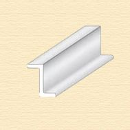 Z-профиль пластиковый, 4 мм, 3 шт/упак EVG755, фото 1