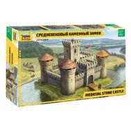 Средневековый каменный замок масштаб 1:72 ZV8512, фото 1