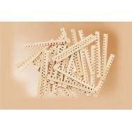 Заготовки для решеток, липа, 42х2 мм, 20 шт MS2874, фото 1