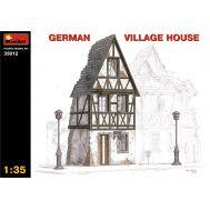 Немецкий деревенский дом масштаб 1:35 MiniArt MiA35012, фото 1